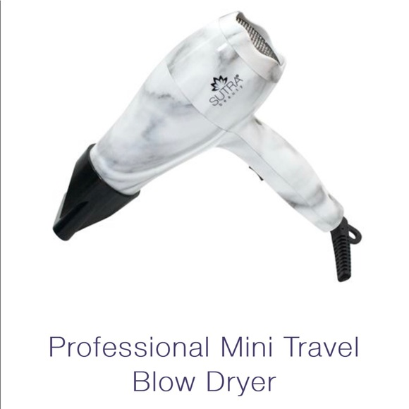 Marble Travel Blow Dryer Nwt